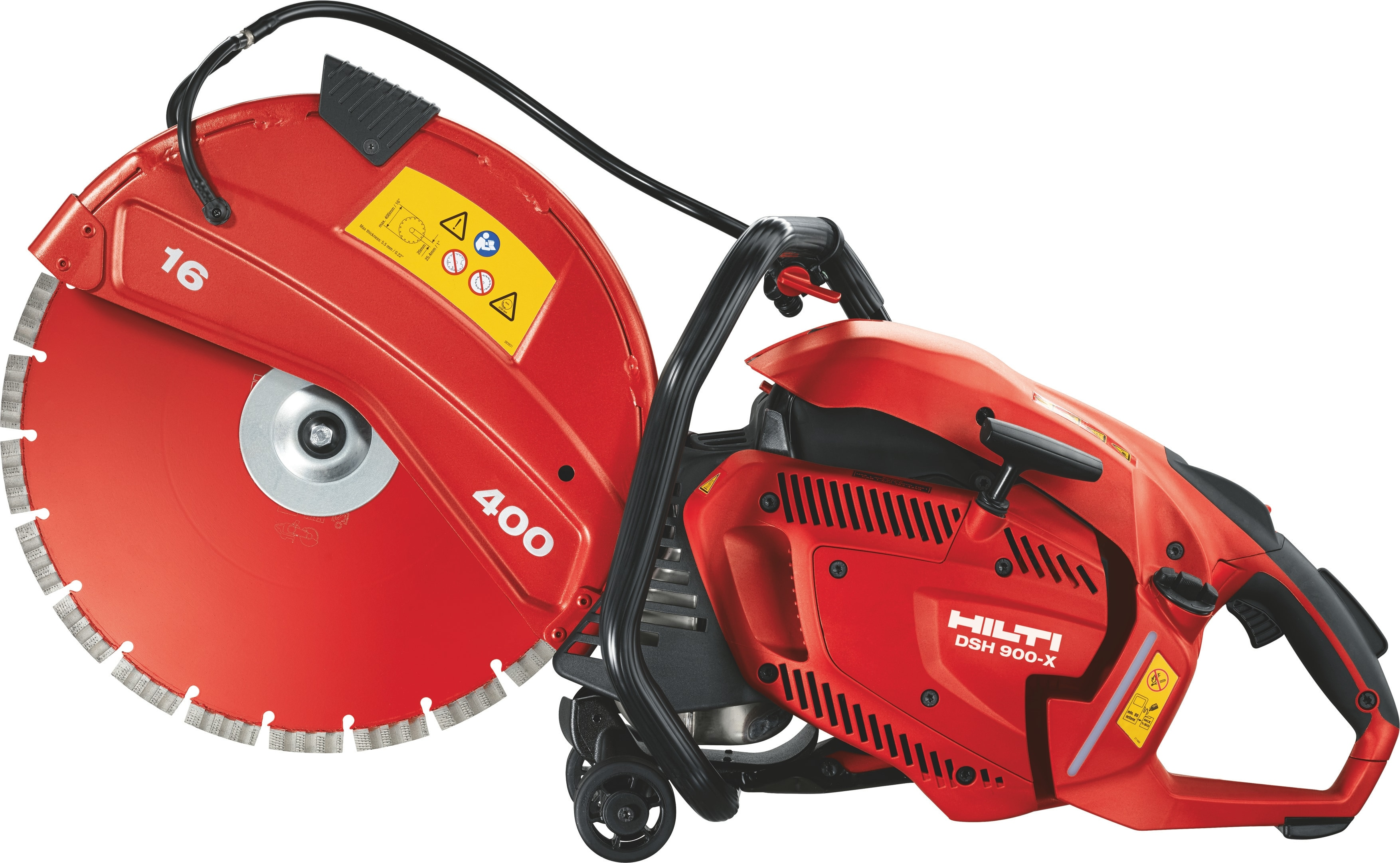 Hilti DSH 600-X light weight diamond gas saw with DSH-P water pump