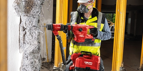 TE 500-A36 is a lightweight tool and includes many safety features
