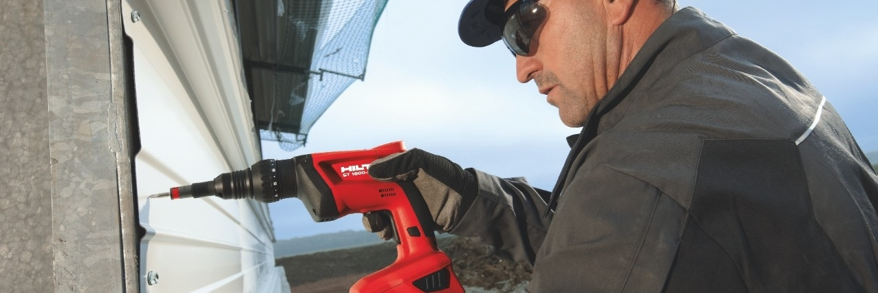 Hilti profile sheets and liner tray fastening systems