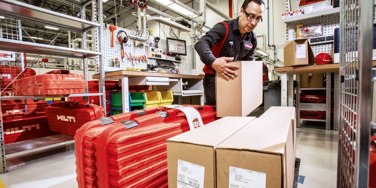Hilti express 1-day delivery